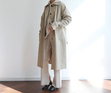 B trench CT  (Beige)